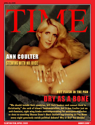 Coulter nude sex ann having