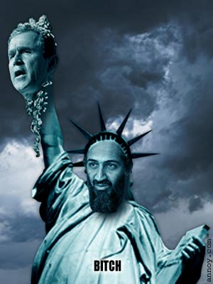 Clinton Fein, Osama Bin Laden, 2001